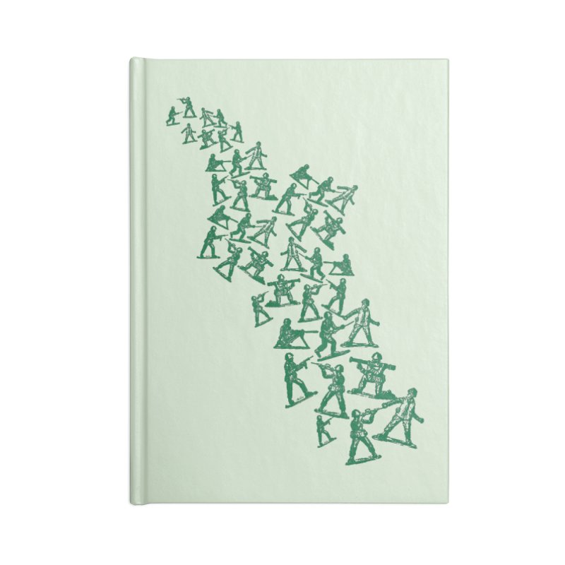 Toy Army Men Accessories Notebook by