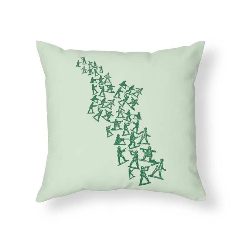 Toy Army Men Home Throw Pillow by