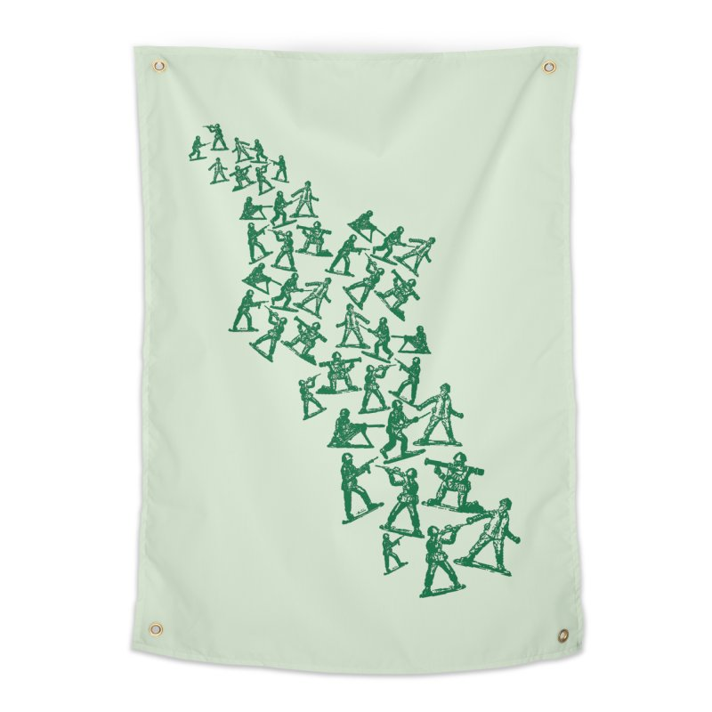 Toy Army Men Home Tapestry by