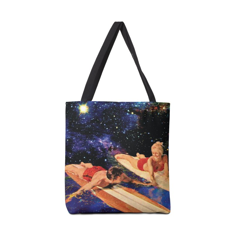 Galaxy Surfing Accessories Bag by