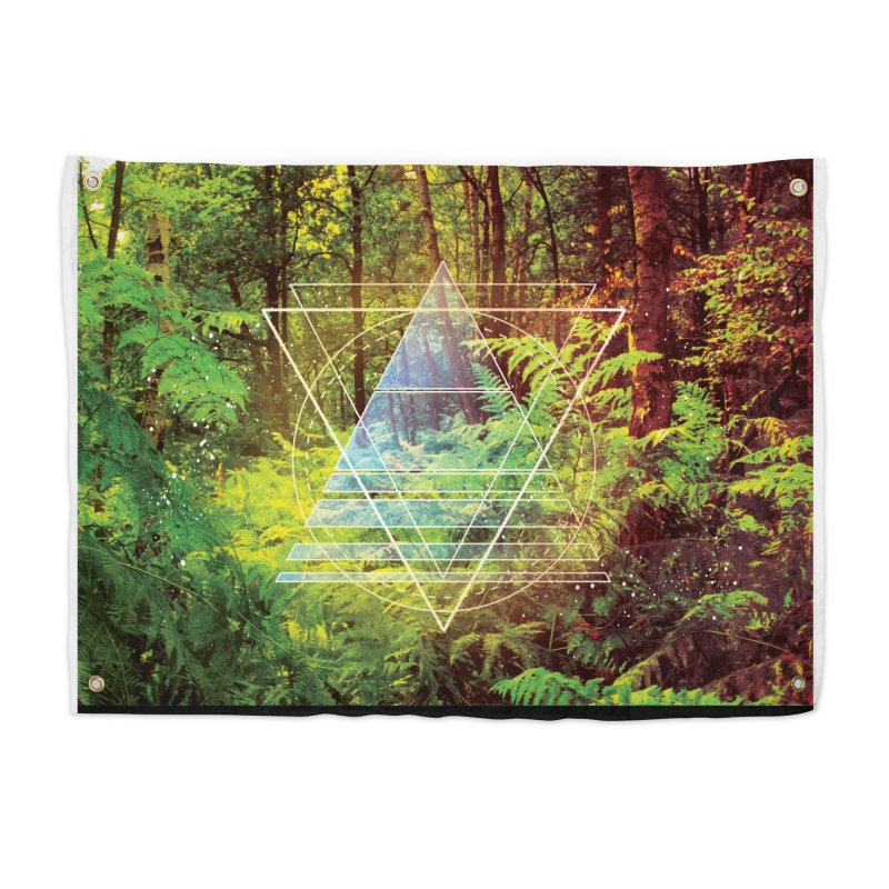 Zen Trail Home Tapestry by