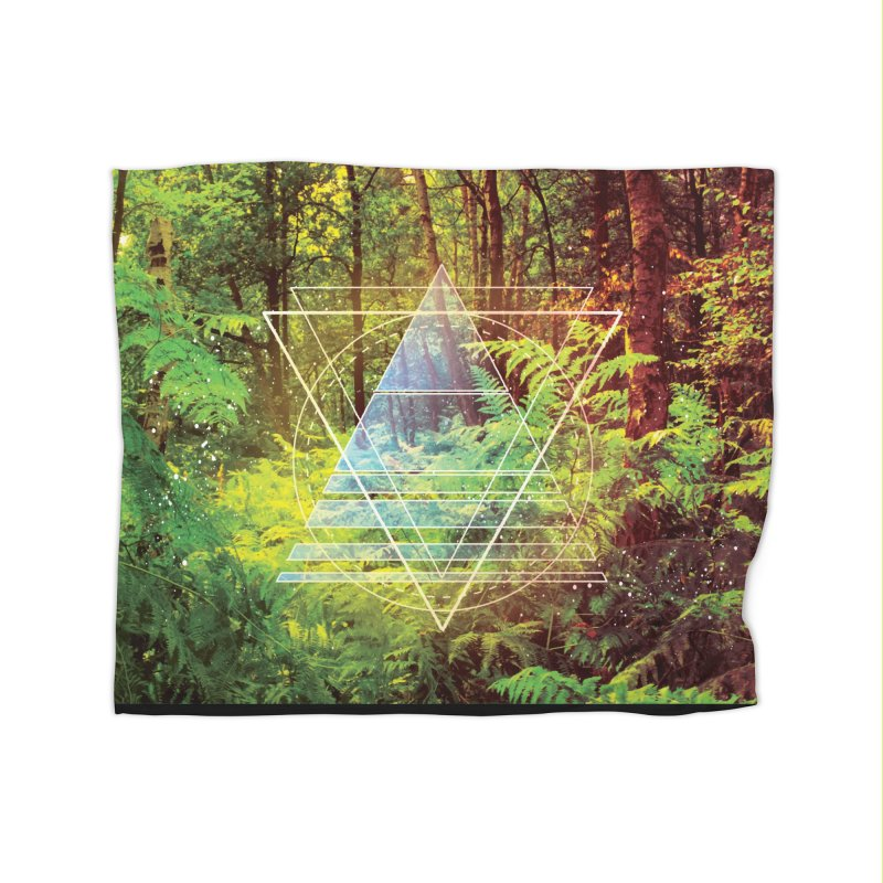 Zen Trail Home Blanket by