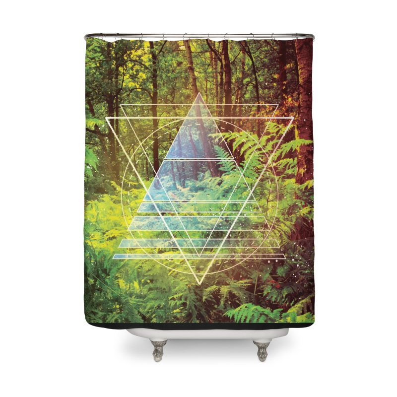 Zen Trail Home Shower Curtain by
