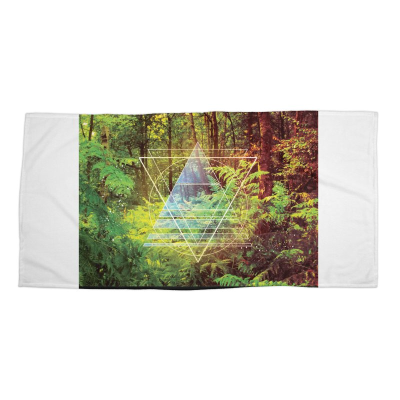 Zen Trail Accessories Beach Towel by