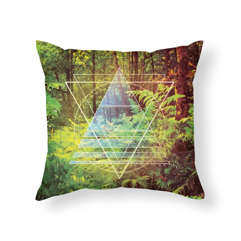Zen Trail Home Throw Pillow by