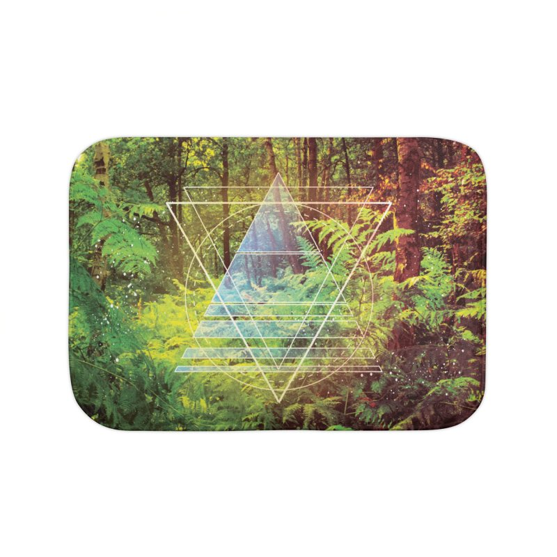 Zen Trail Home Bath Mat by