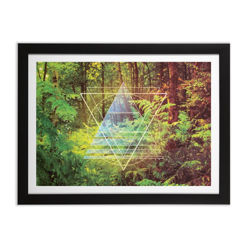 Zen Trail Home Framed Fine Art Print by