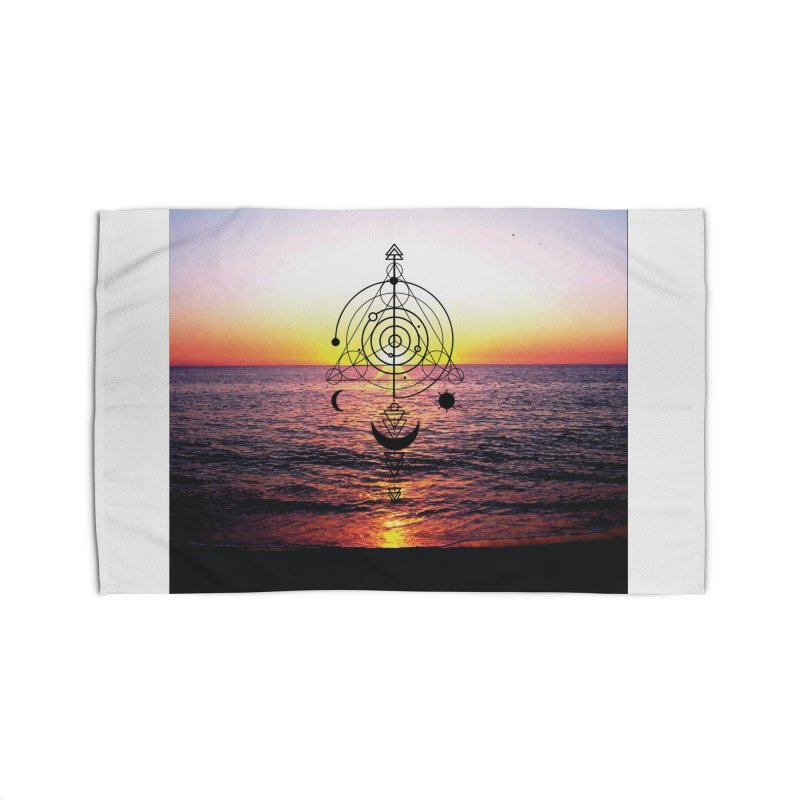 Astral Sunset Home Rug by