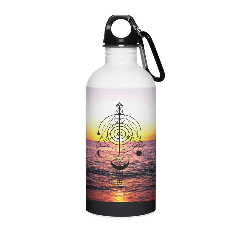 Astral Sunset Accessories Water Bottle by