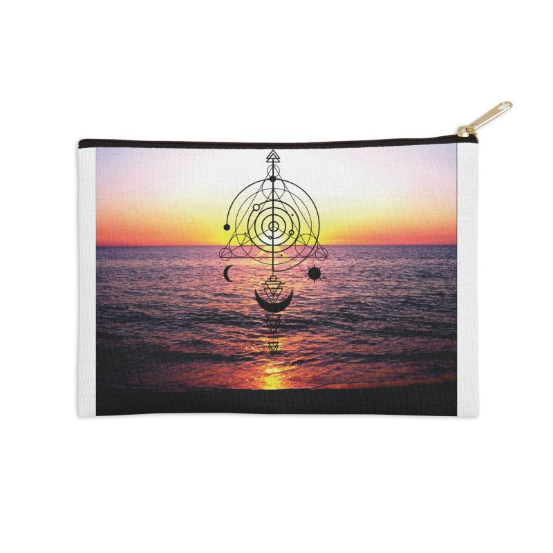 Astral Sunset Accessories Zip Pouch by
