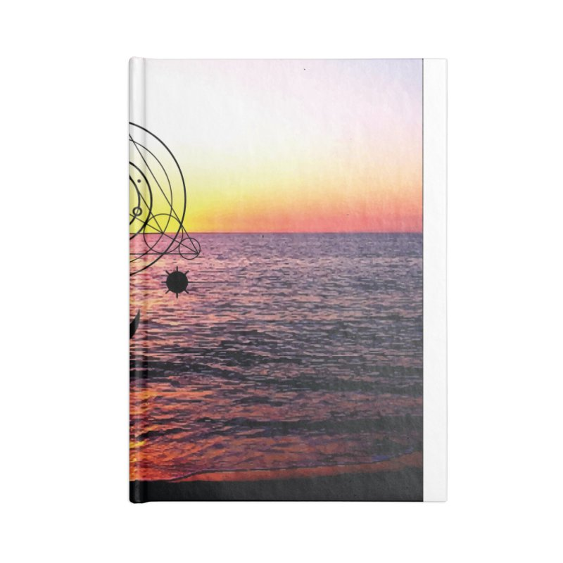 Astral Sunset Accessories Notebook by