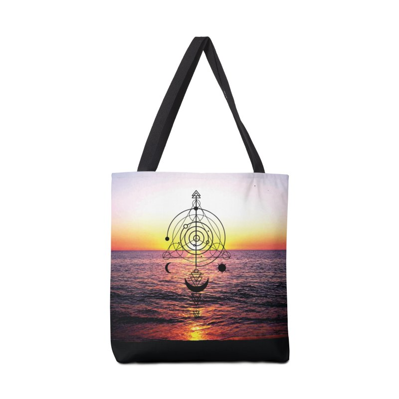 Astral Sunset Accessories Bag by