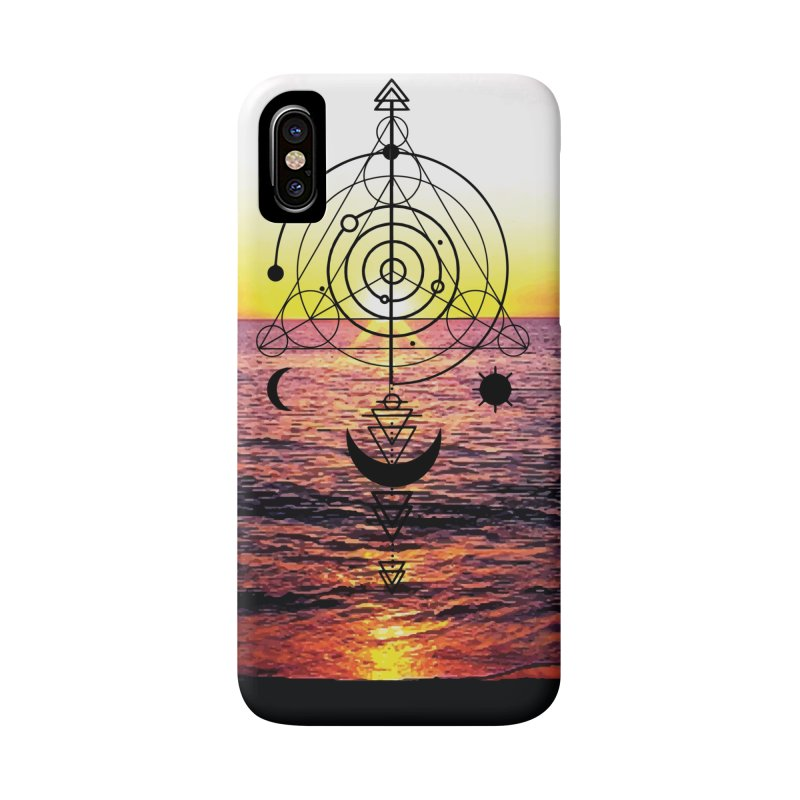 Astral Sunset Accessories Phone Case by