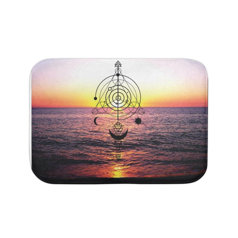 Astral Sunset Home Bath Mat by
