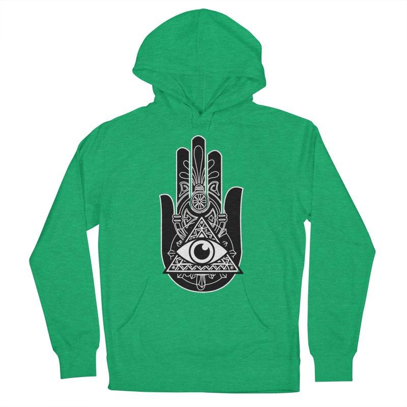 Hamsa Third Eye Men's Pullover Hoody by