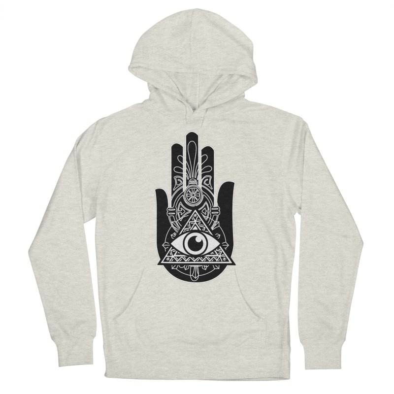 Hamsa Third Eye Men's Pullover Hoody by