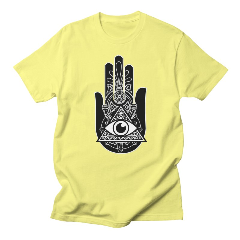 Hamsa Third Eye Men's T-Shirt by