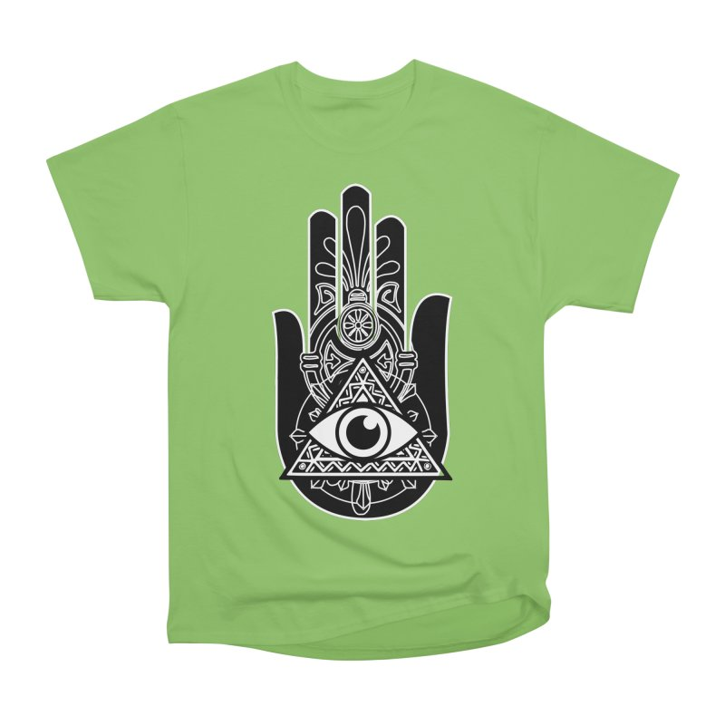 Hamsa Third Eye Women's Heavyweight Unisex T-Shirt by