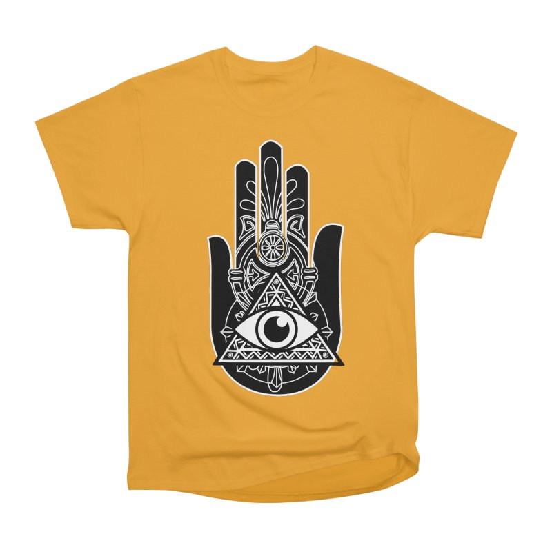 Hamsa Third Eye Men's Heavyweight T-Shirt by