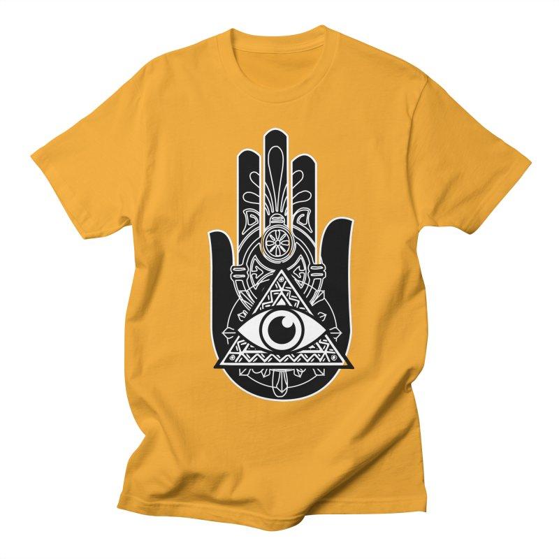 Hamsa Third Eye Men's Regular T-Shirt by