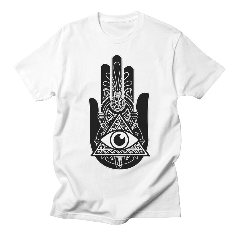Hamsa Third Eye Men's Regular T-Shirt by
