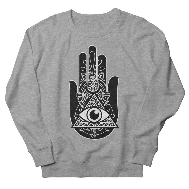 Hamsa Third Eye Men's French Terry Sweatshirt by
