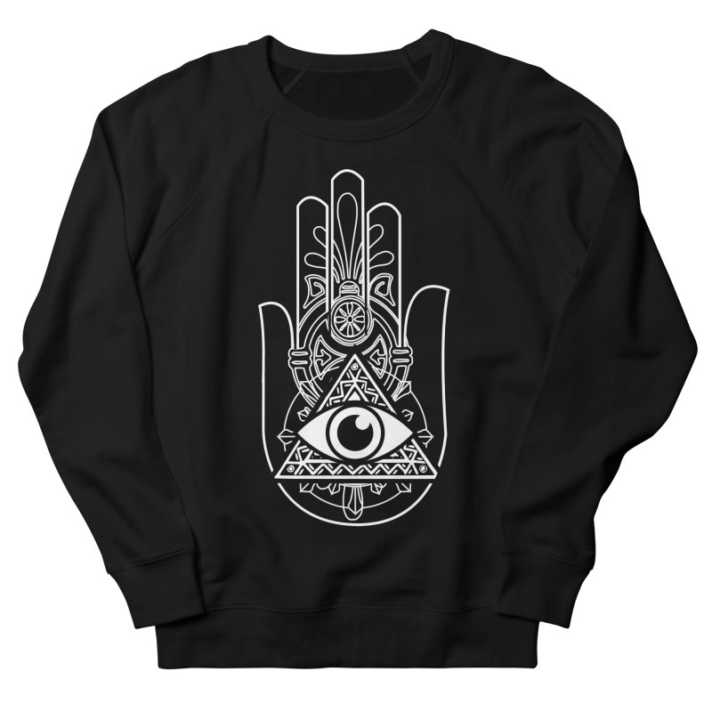 Hamsa Third Eye Men's French Terry Sweatshirt by