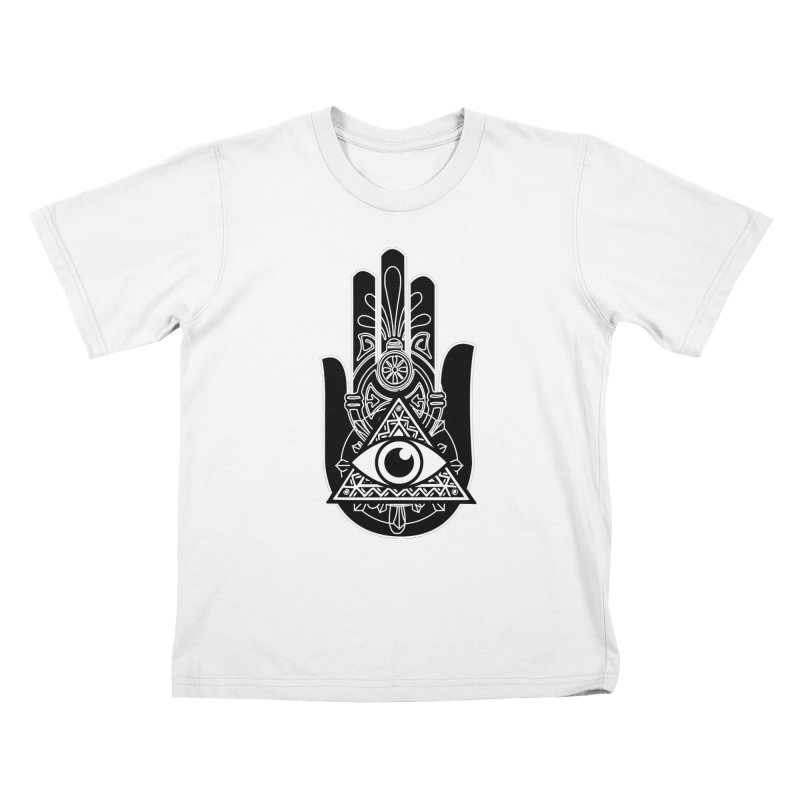 Hamsa Third Eye Kids T-Shirt by