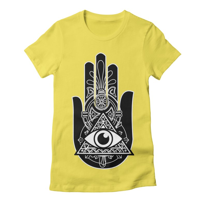 Hamsa Third Eye Women's T-Shirt by