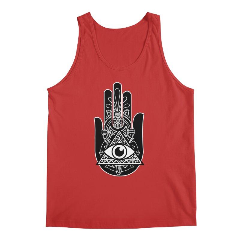 Hamsa Third Eye Men's Regular Tank by