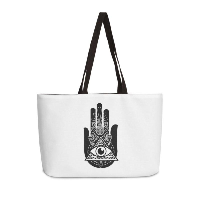 Hamsa Third Eye Accessories Bag by