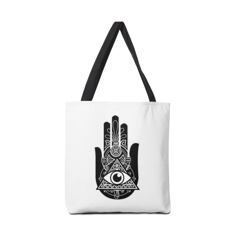 Hamsa Third Eye Accessories Bag by