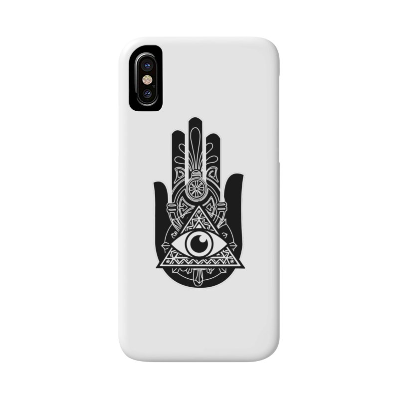 Hamsa Third Eye Accessories Phone Case by