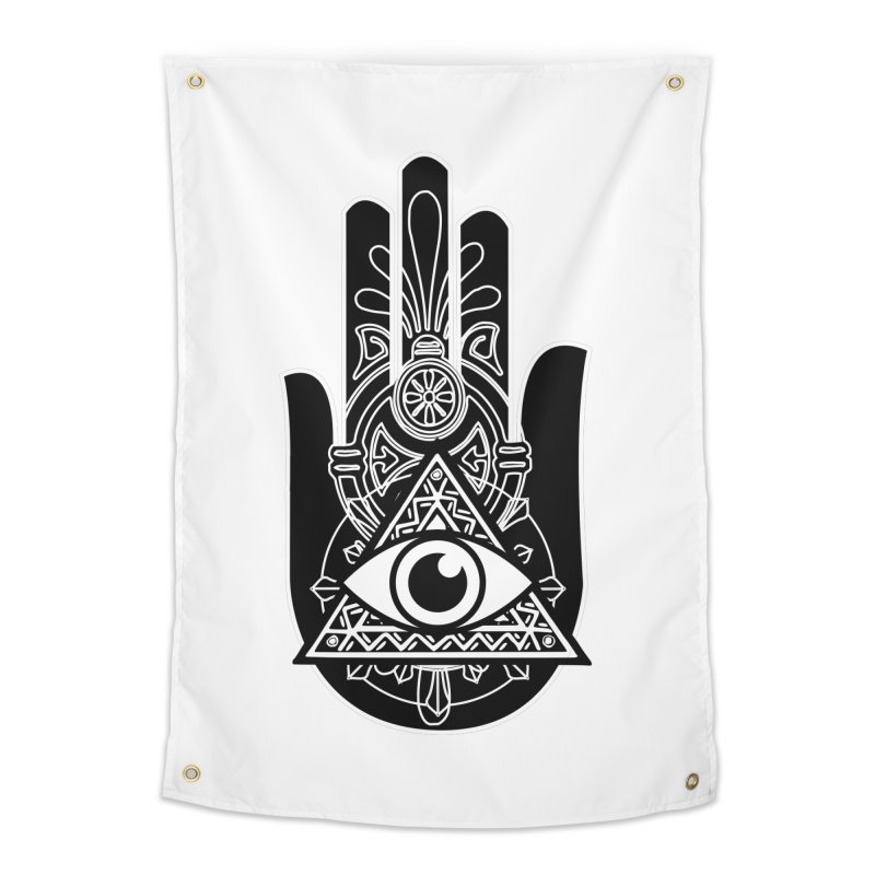 Hamsa Third Eye Home Tapestry by