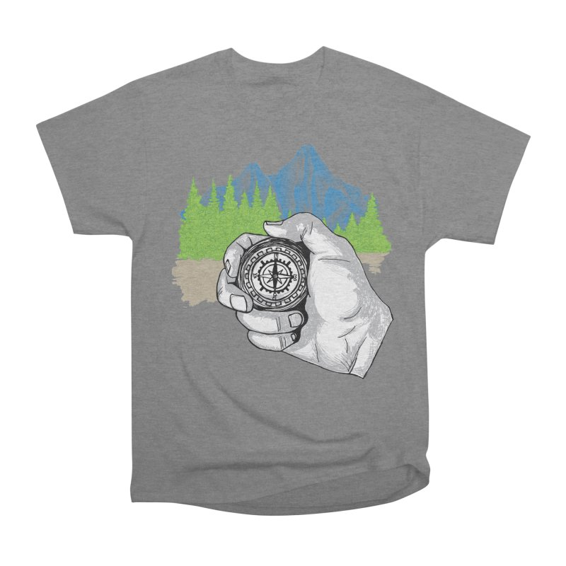 Heading North Men's Heavyweight T-Shirt by