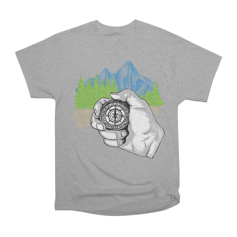Heading North Women's Heavyweight Unisex T-Shirt by