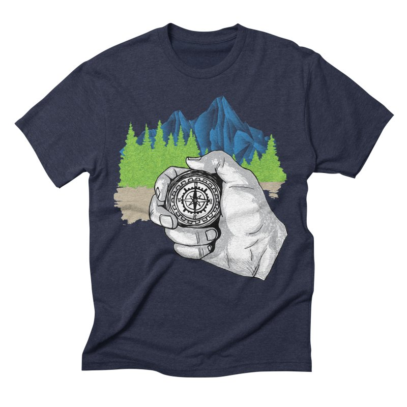 Heading North Men's Triblend T-Shirt by