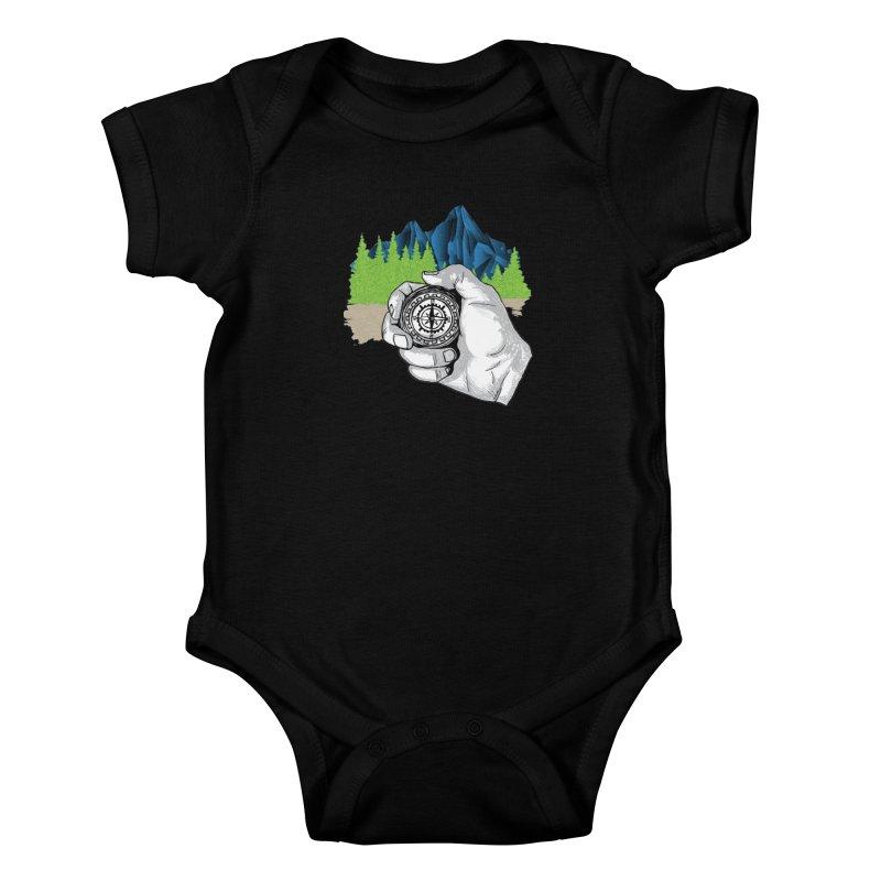 Heading North Kids Baby Bodysuit by
