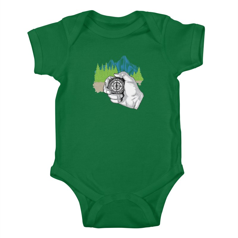 Heading North Kids Baby Bodysuit by