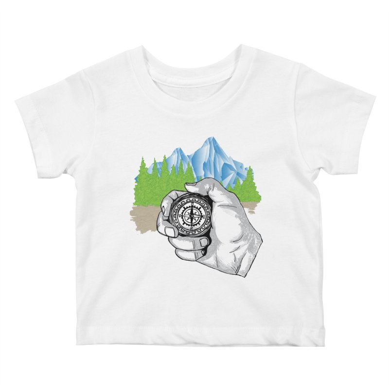 Heading North Kids Baby T-Shirt by