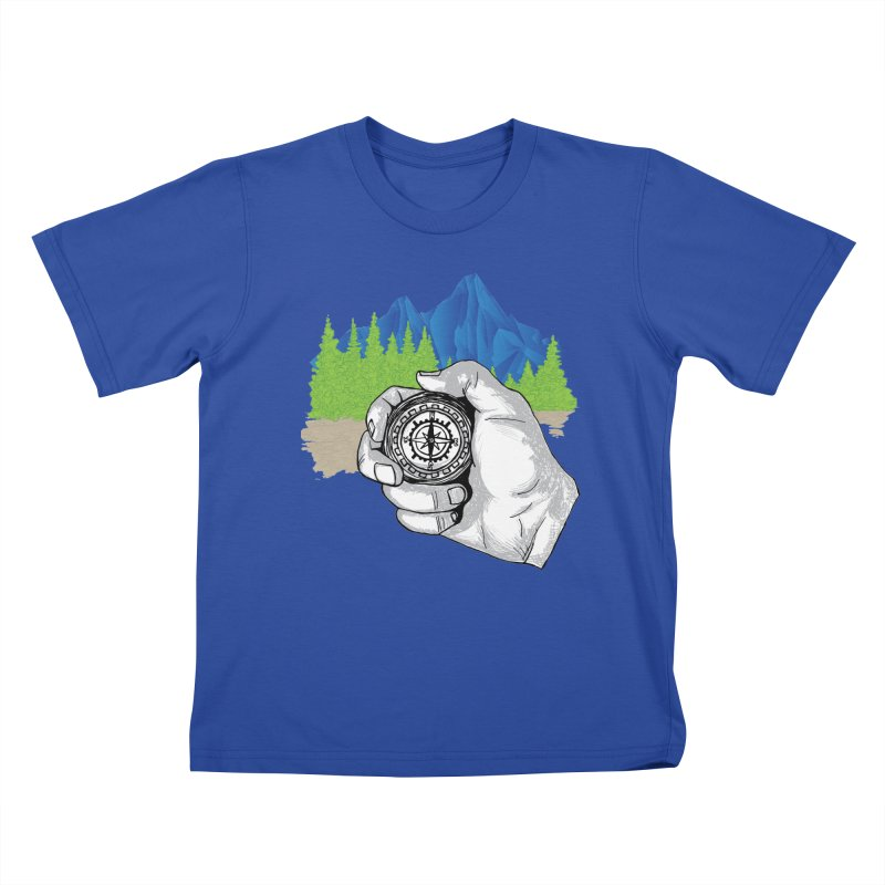 Heading North Kids T-Shirt by