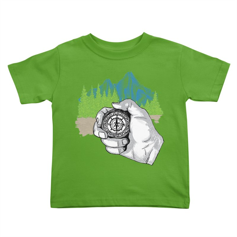 Heading North Kids Toddler T-Shirt by