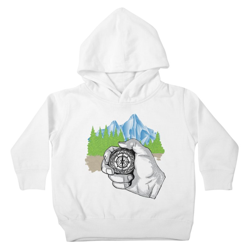 Heading North Kids Toddler Pullover Hoody by