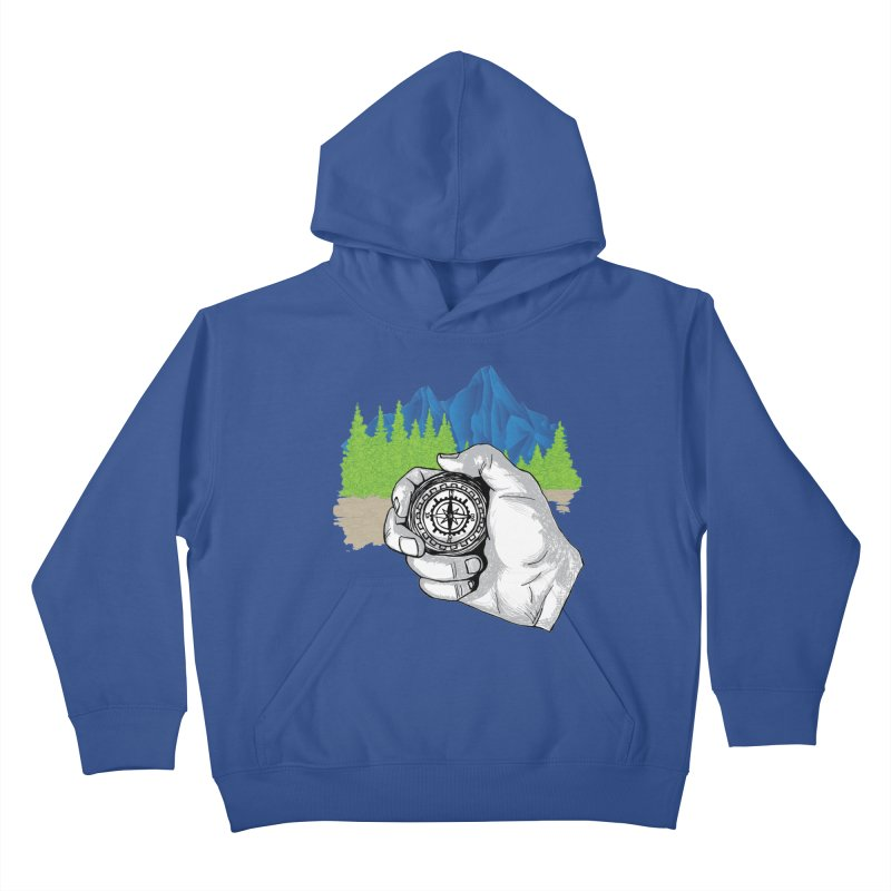 Heading North Kids Pullover Hoody by