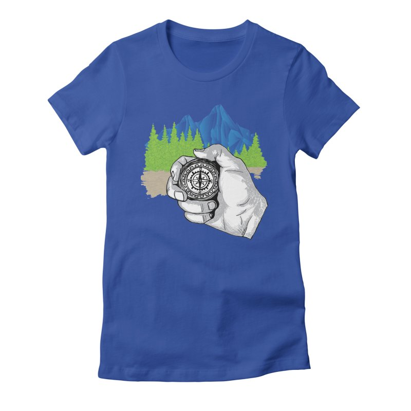 Heading North Women's Fitted T-Shirt by