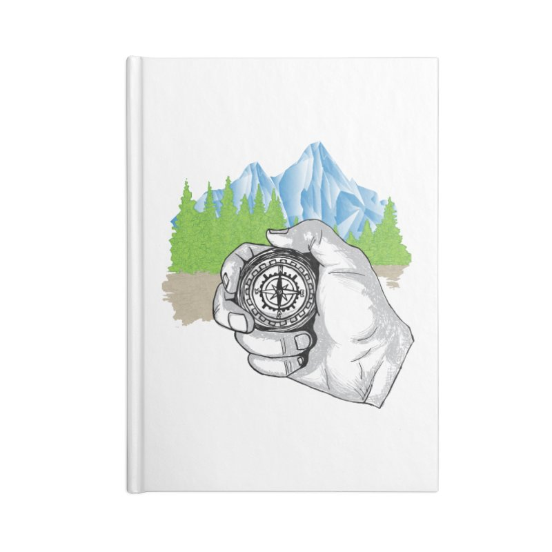 Heading North Accessories Blank Journal Notebook by