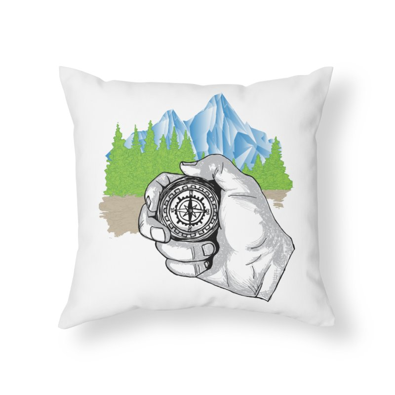 Heading North Home Throw Pillow by