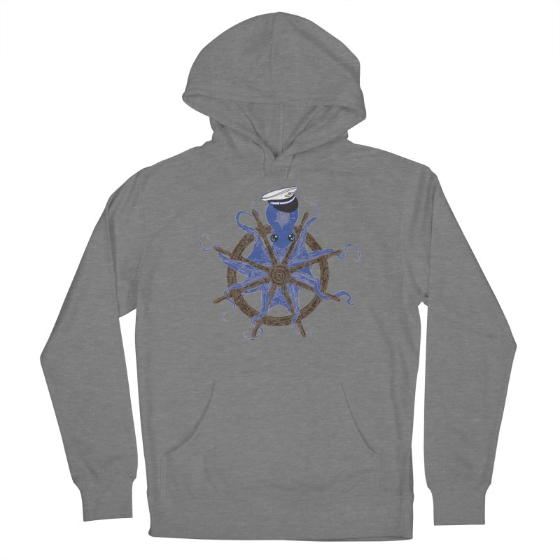 Octopus Captain Women's French Terry Pullover Hoody by