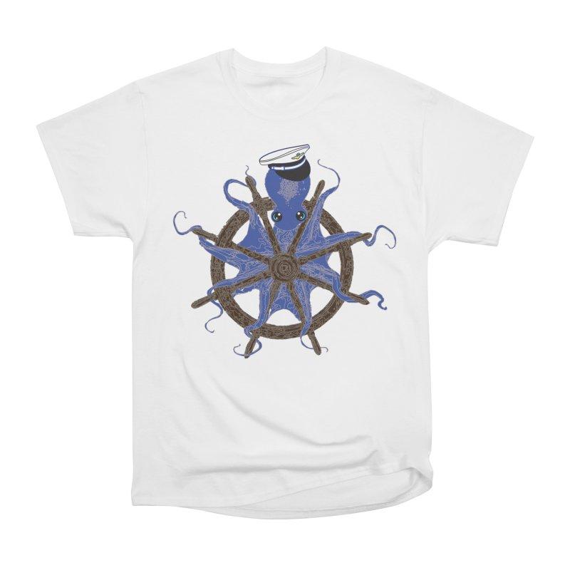 Octopus Captain Men's Heavyweight T-Shirt by