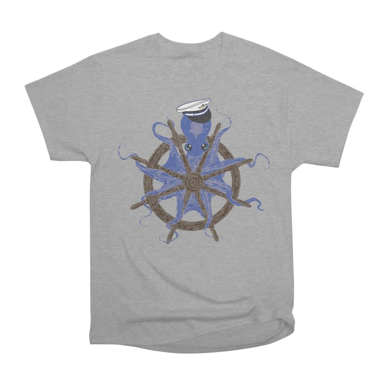 Octopus Captain Men's Heavyweight T-Shirt by